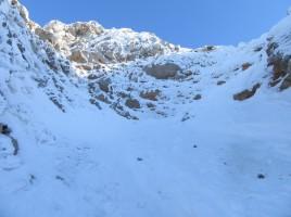 Prehod na greben zapira skok