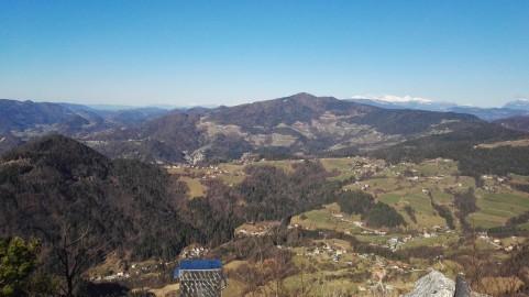 Čemšeniška planina je še daleč