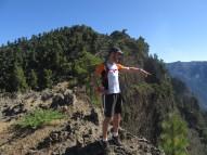 Pogled proti kalderi
