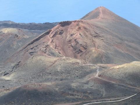 Vulkan, ki je izbruhnil leta 1971