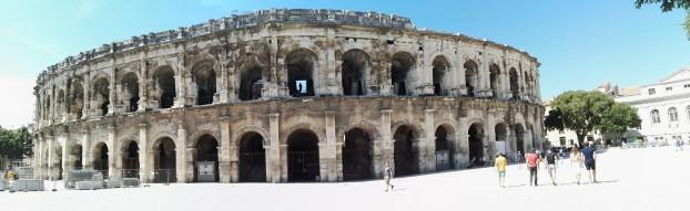 Rimski amfiteater v mestu Nimes