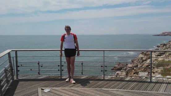 Tek ob Francoski južni obali