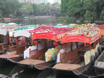 Tržnica na vodi (floating market)