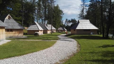 Eco resort Velika planina, kjer je bil štart teka