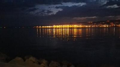Trst ponoči
