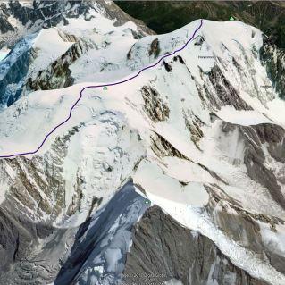 Primer sledi vrisane v Google Earth