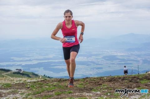Tina Klinar je postala nova državna prvakinja v gorskem teku