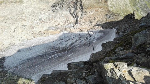 Ledenik pod Grosser Hafnerjem