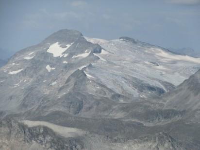 Ankogel z ledenikom Kleinelendkees