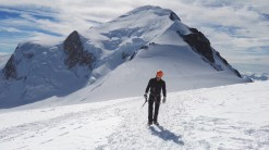 Še zadnji pogled na Mont Blanc