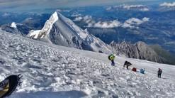 Vrh gore Aiguille di Bionnassay