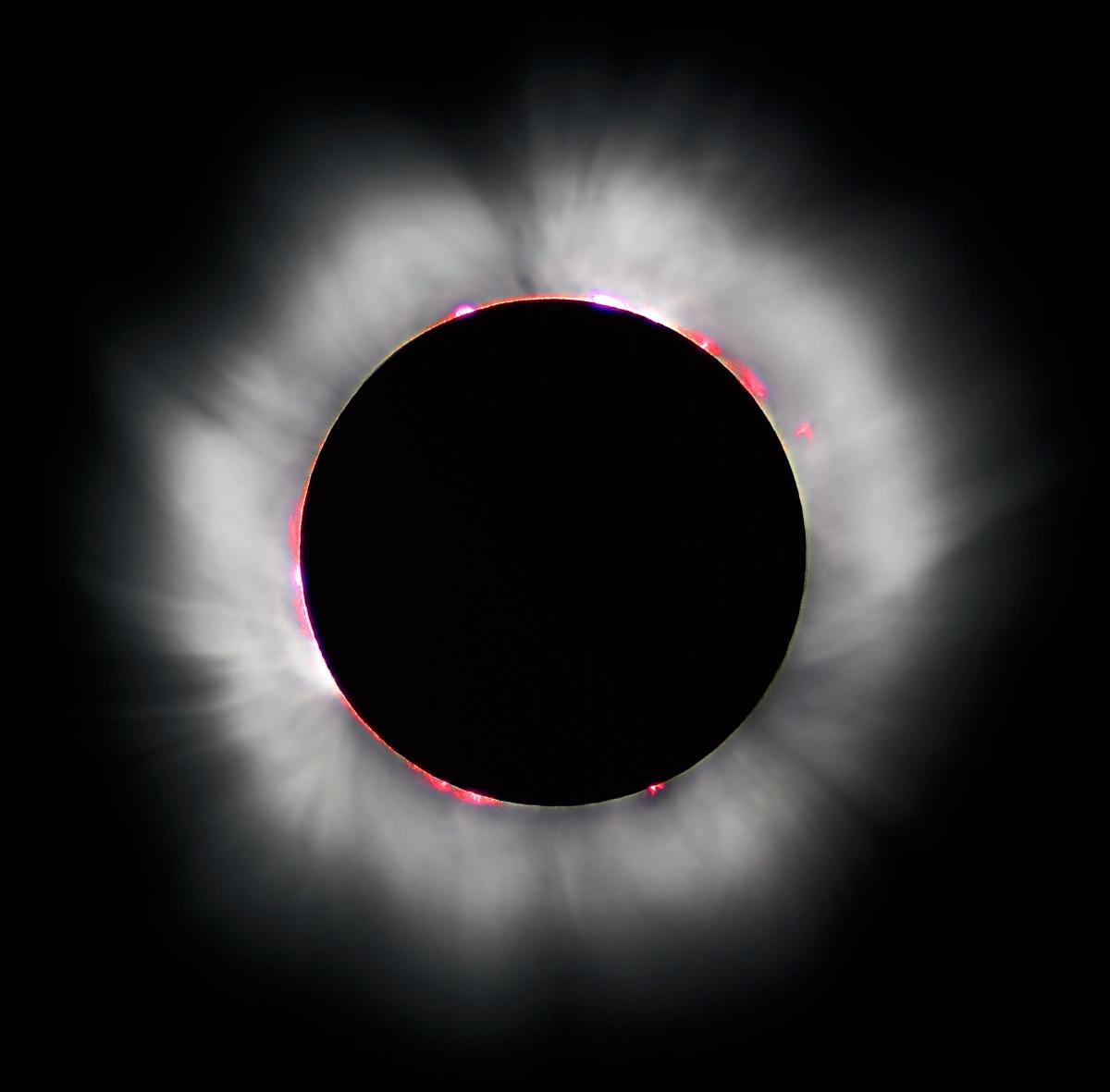 Popolni Sončev mrk v ZDA, 21. 8. 2017