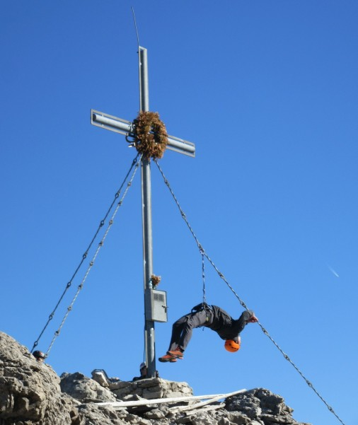 Križ na Grosse Sandspitze
