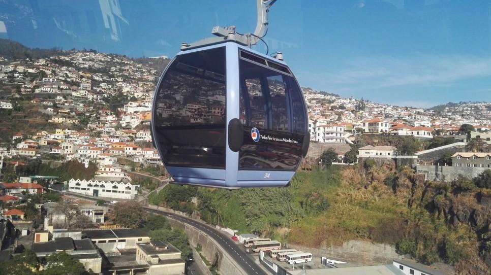 Žičnica v Funchalu