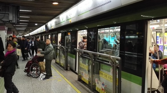 Šanghajska podzemna železnica