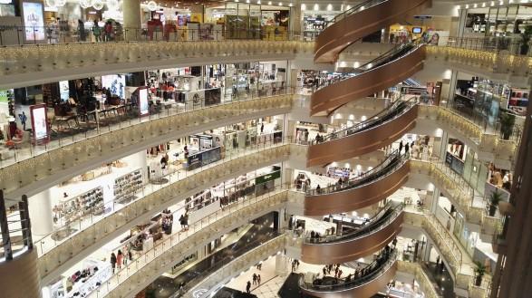 Nakupovalni center kot iz filma
