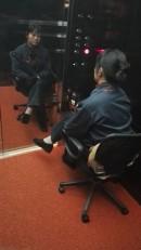 Njena edina služba- pritiskanje na gumb dvigala