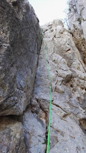 Kamin v šestem raztežaju