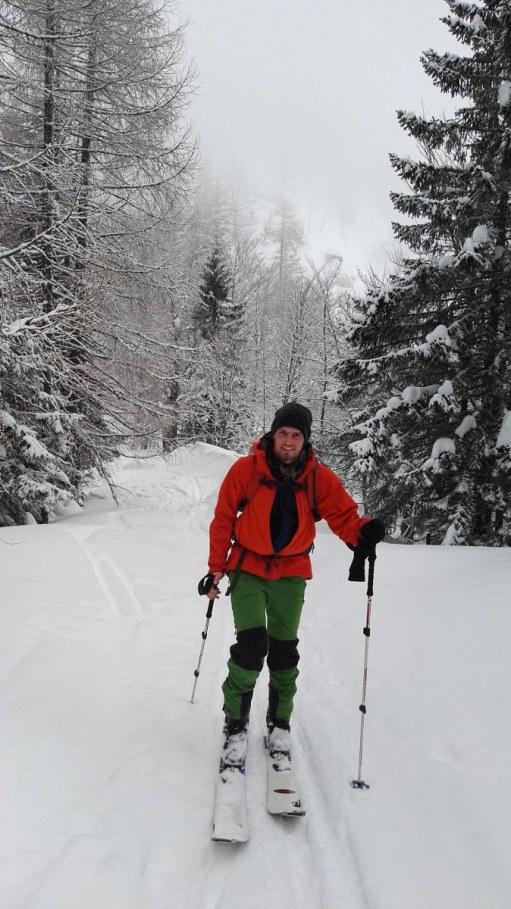 Po cesti do planine Dovška Rožca