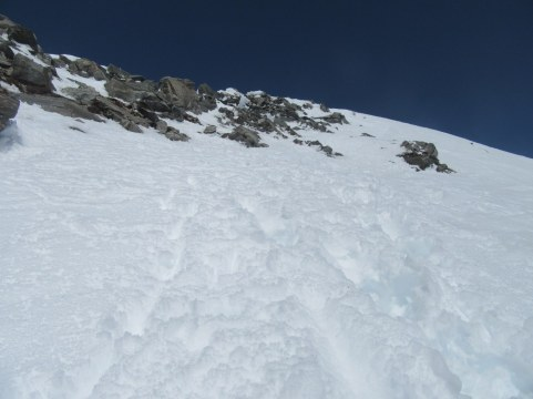 Vršno snežišče na Ankoglu