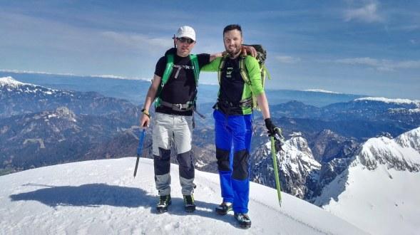 Na vrhu Grintovca