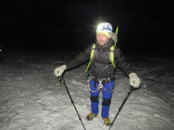 Ponoči na ledeniku
