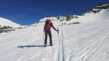 Navzgor po ledeniku