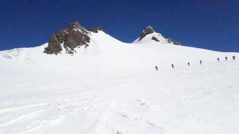 Balmenhorn (4167 m) in Corno Nero (4322 m)