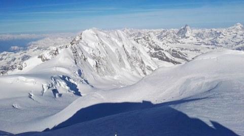 Še zadnji pogled na Matterhorn