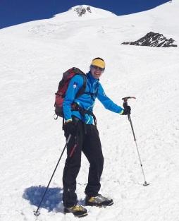 Z gojzarji La Sportiva Spantik na Elbrusu