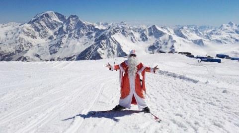 Božiček na Elbrusu
