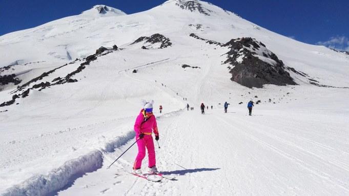 Na Elbrusu vidiš vse mogoče