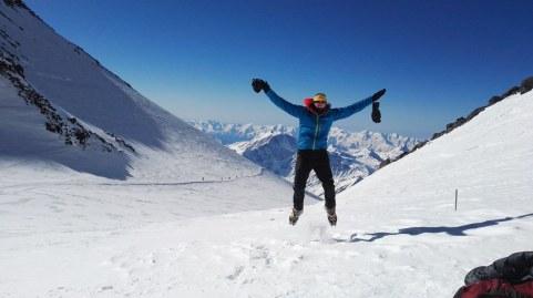 Tud na višini 5300 m se da skakat