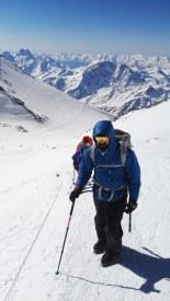 Proti vrhu Elbrusa