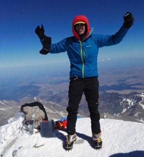 Na vrhu Elbrusa
