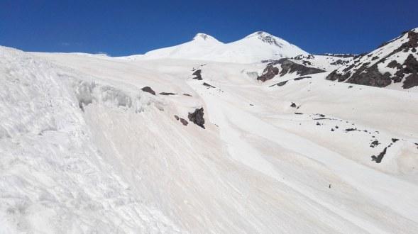 Smučanje pod ledeniku