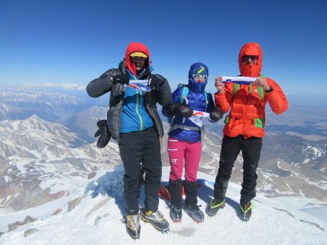 Na vrhu Elbrusa (5642 m)