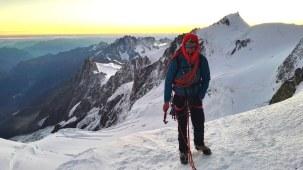 Plezalni pas Camp Alp Racing (na Mont Blanc)