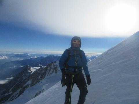 pod vrhom Mont Blanca
