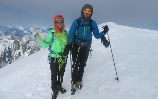 Na vrhu Mont Blanca (4810 m)