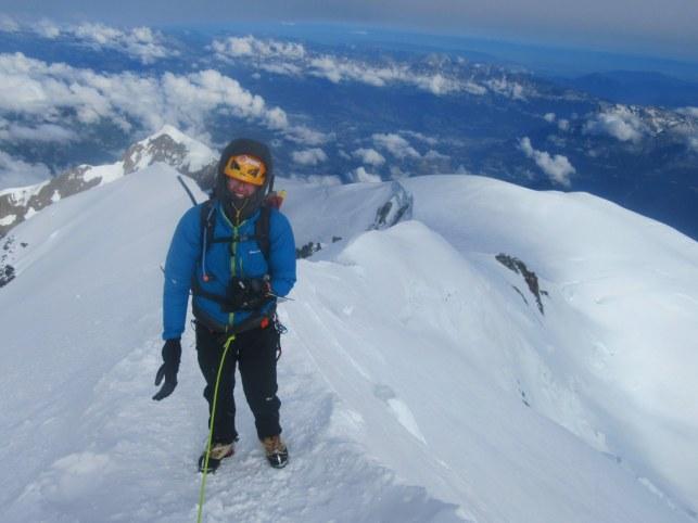 Tik pod vrhom Mont Blanca