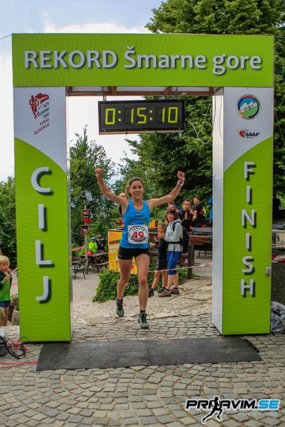 Med ženskami je s časom 15 min 10 s zmagala Tina Kozjek