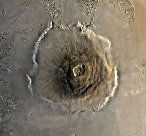 Olympus Mons (foto: Wikipedia)