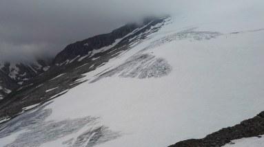 spodnji del ledenika Rainer Kees