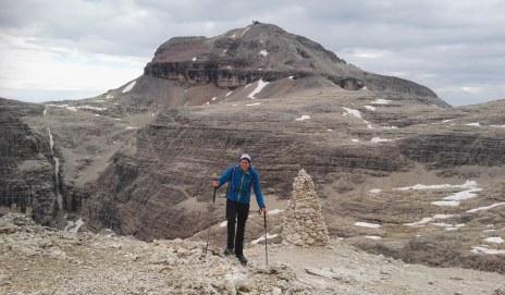 Vrh gore Piz Boe