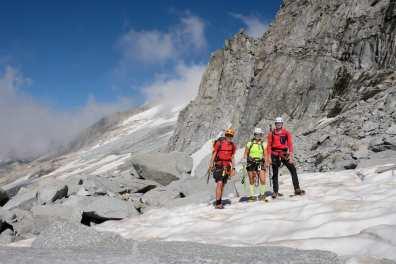 Na vznožju ledenika