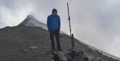 Na vrhu Hocharna (3254 m)