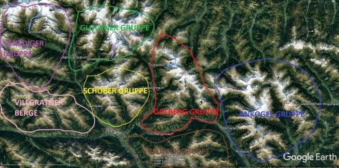 Gorske skupine v Visokih turah