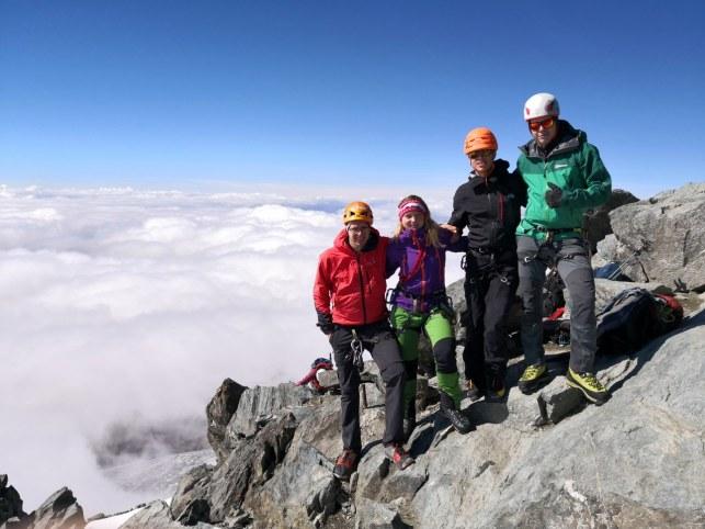 Na vrhu Grossglocknerja