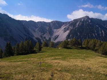 Razgled iz Ovčjega vrha na Stol